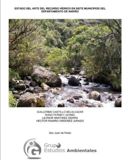 Estado del Arte del Recurso Hídrico en Siete Municipios del Departamento de Nariño
