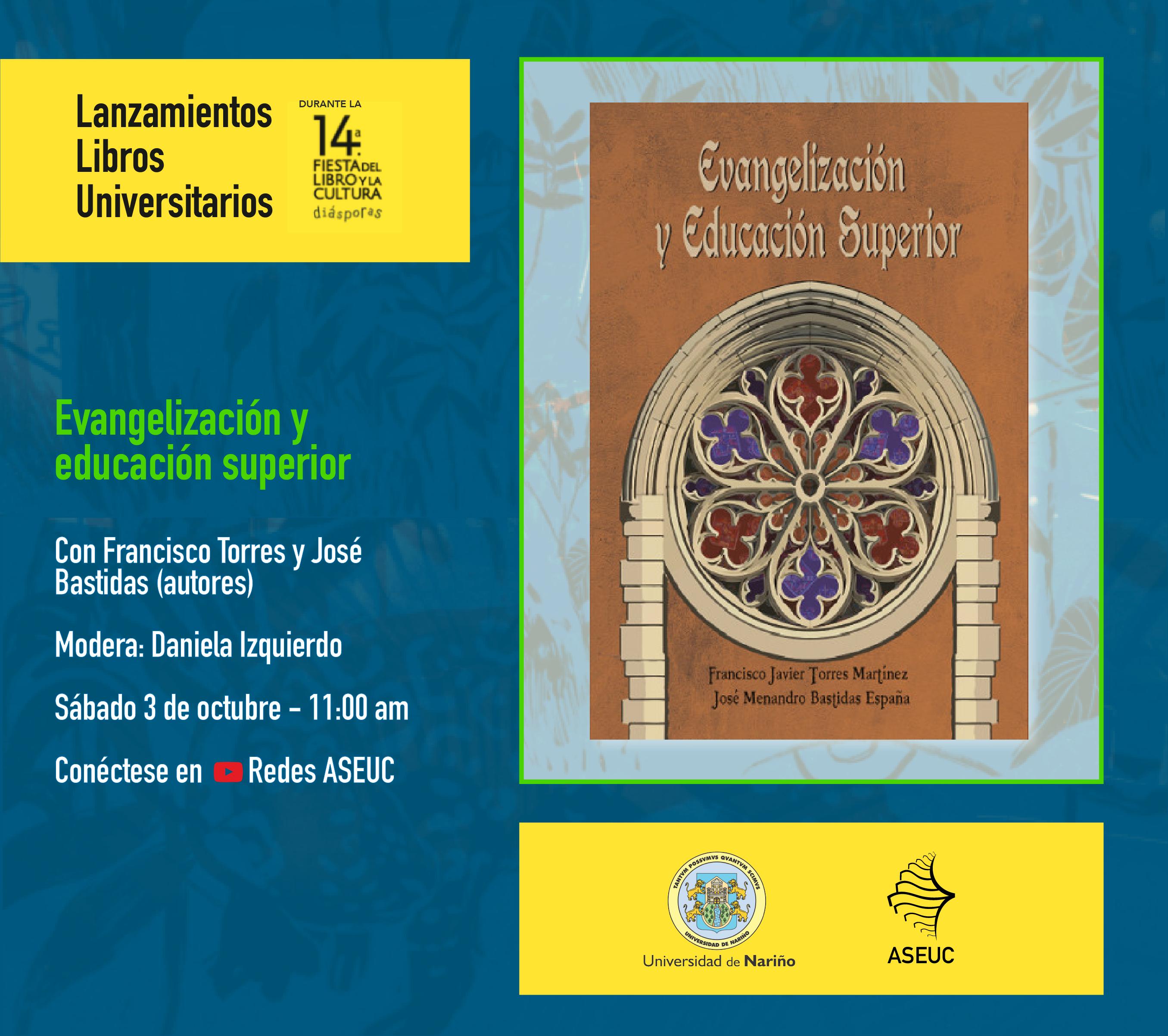 Lanzamiento libro Evangelización y Educación superior