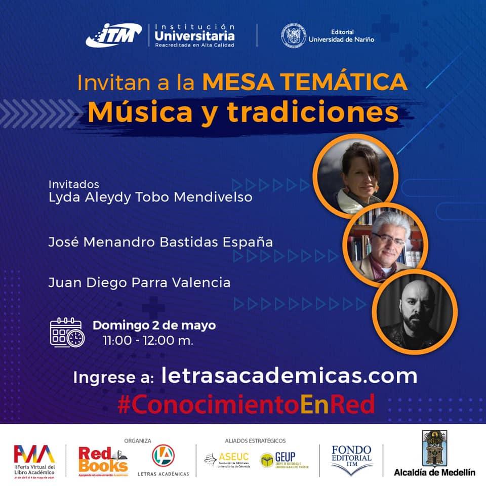 Grabación mesa temática Música y Tradiciones en la FVLA 2021