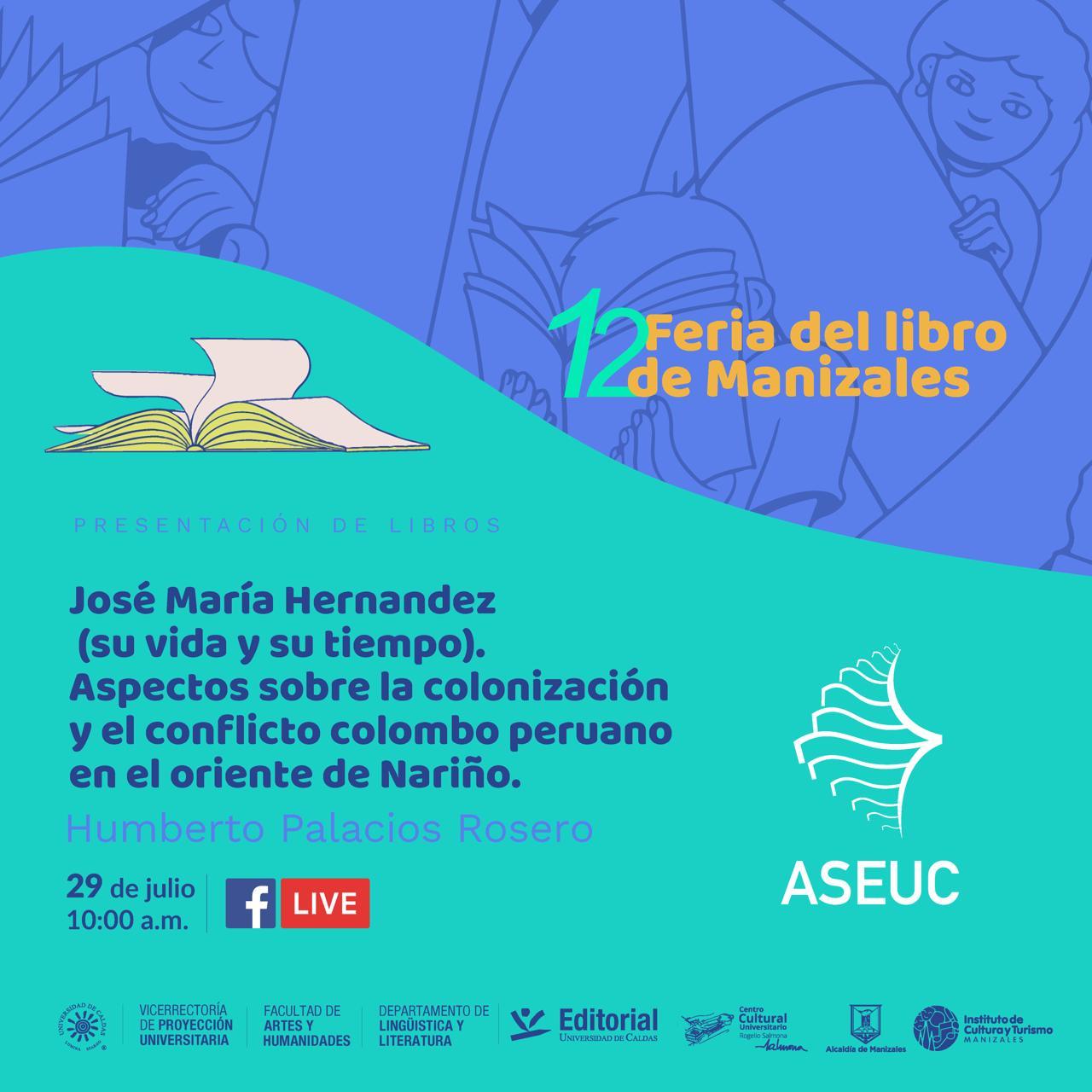 Universidad de Nariño presente en la Feria del Libro de Manizales